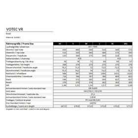 VOTEC VR Framekit - Cadre - gris/noir